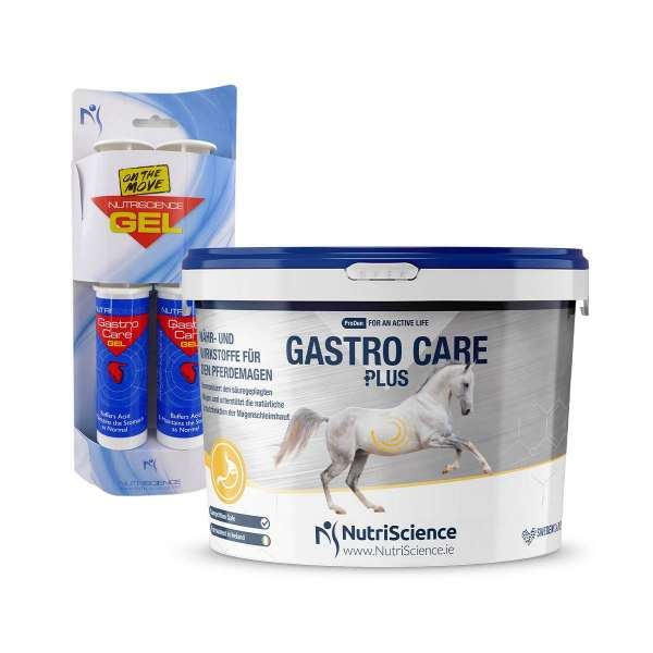 GASTRO CARE PLUS | Nähr- & Wirkstoffe für den Pferdemagen
